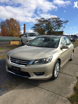 2014 Honda Accord for sale at Village Auto Center INC in Harrisonburg VA