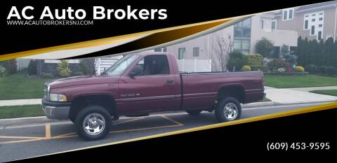 2001 Dodge Ram Pickup 1500 for sale at AC Auto Brokers in Atlantic City NJ