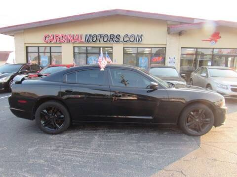 2014 Dodge Charger for sale at Cardinal Motors in Fairfield OH