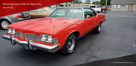 1973 Pontiac Bonneville for sale at Advantage Auto Sales & Imports Inc in Loves Park IL