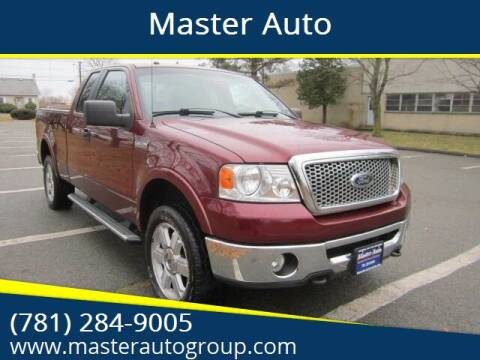 2006 Ford F-150 for sale at Master Auto in Revere MA