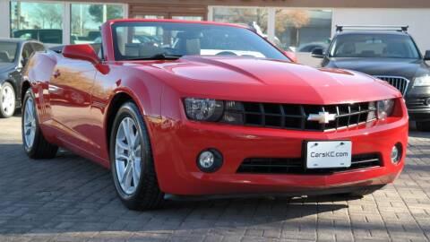 2013 Chevrolet Camaro for sale at Cars-KC LLC in Overland Park KS