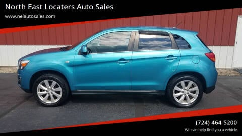 2013 Mitsubishi Outlander Sport for sale at North East Locaters Auto Sales in Indiana PA