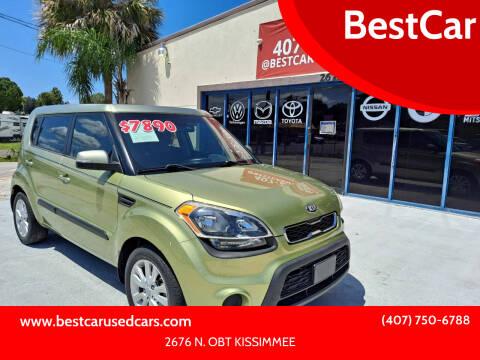 2013 Kia Soul for sale at BestCar in Kissimmee FL