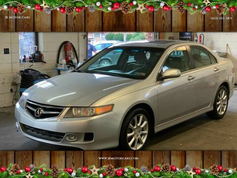 2006 Acura TSX for sale at JK Motor Cars in Pittsburgh PA