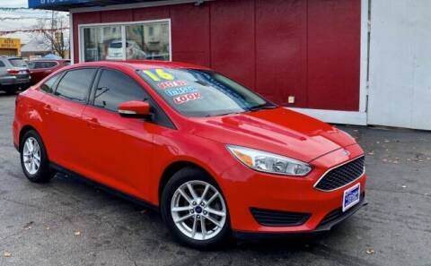 2016 Ford Focus for sale at Latino Motors in Aurora IL