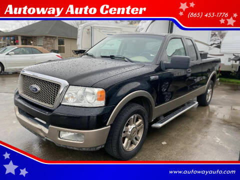 2005 Ford F-150 for sale at Autoway Auto Center in Sevierville TN