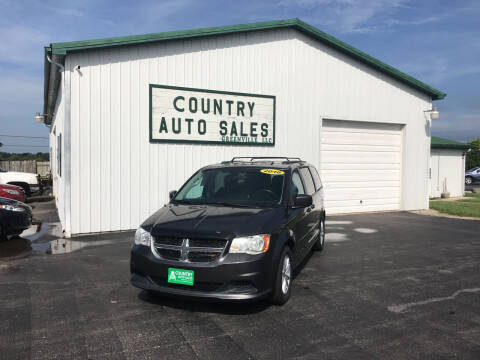 2016 Dodge Grand Caravan for sale at COUNTRY AUTO SALES LLC in Greenville OH