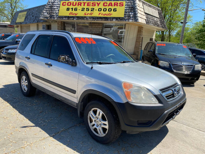 2003 Honda CR-V for sale at Courtesy Cars in Independence MO