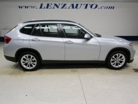 2014 BMW X1 for sale at LENZ TRUCK CENTER in Fond Du Lac WI