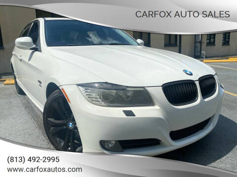 2010 BMW 3 Series for sale at Carfox Auto Sales in Tampa FL