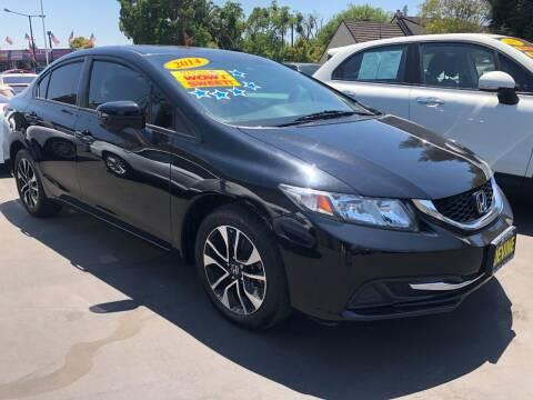 2015 Honda Civic for sale at Devine Auto Sales in Modesto CA