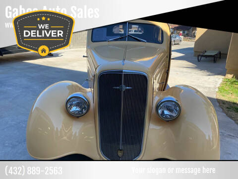 1935 Chevrolet Master Deluxe for sale at Gabes Auto Sales in Odessa TX