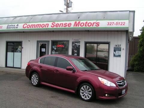 2012 Subaru Legacy for sale at Common Sense Motors in Spokane WA