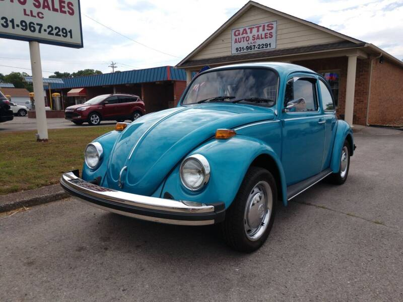 1974 Volkswagen Beetle for sale at Gattis Auto Sales LLC in Winchester TN