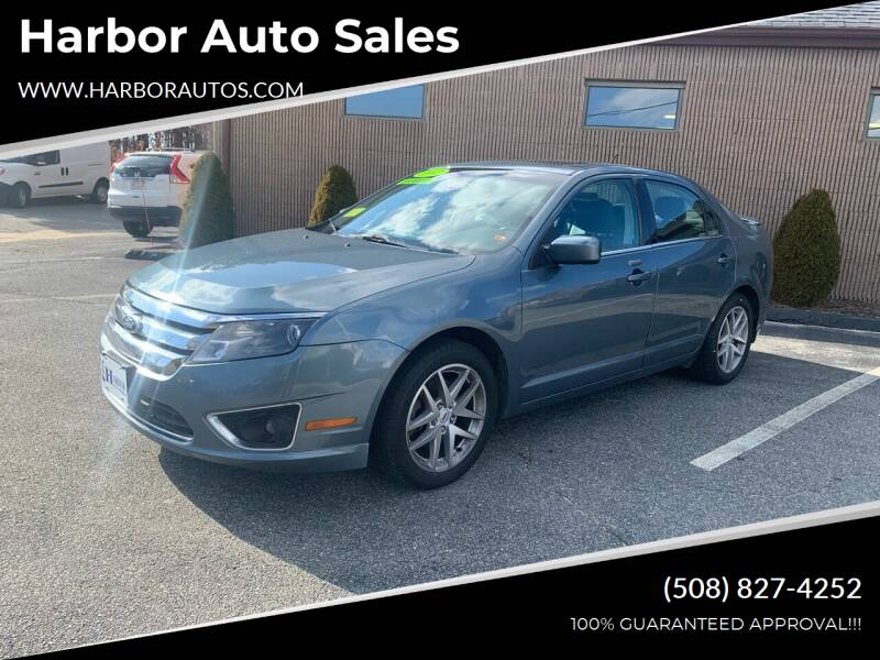 2012 Ford Fusion for sale at Harbor Auto Sales in Hyannis MA