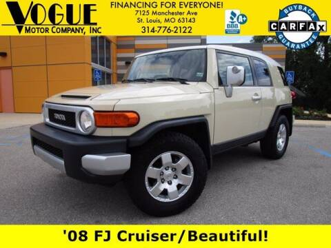 2008 Toyota FJ Cruiser for sale at Vogue Motor Company Inc in Saint Louis MO
