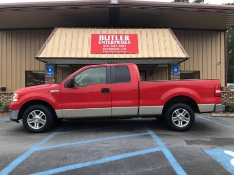 2008 Ford F-150 for sale at Butler Enterprises in Savannah GA