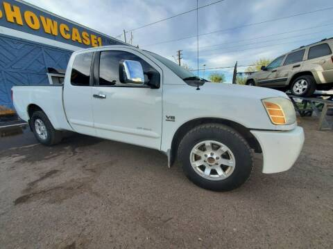 2004 Nissan Titan for sale at Used Car Showcase in Phoenix AZ