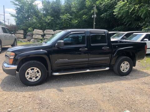 2004 GMC Canyon for sale at Compact Cars of Pittsburgh in Pittsburgh PA