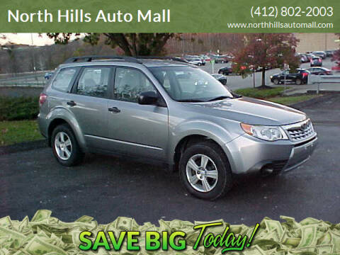 2011 Subaru Forester for sale at North Hills Auto Mall in Pittsburgh PA