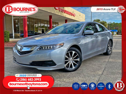 2015 Acura TLX for sale at Bourne's Auto Center in Daytona Beach FL