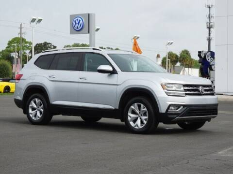 2018 Volkswagen Atlas for sale at Bob Boast Volkswagen in Bradenton FL
