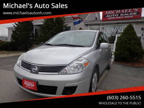 2009 Nissan Versa for sale at Michael's Auto Sales in Derry NH