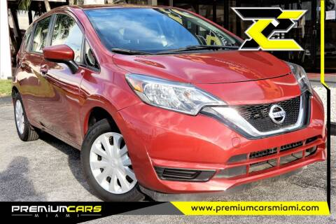 2017 Nissan Versa Note for sale at Premium Cars of Miami in Miami FL