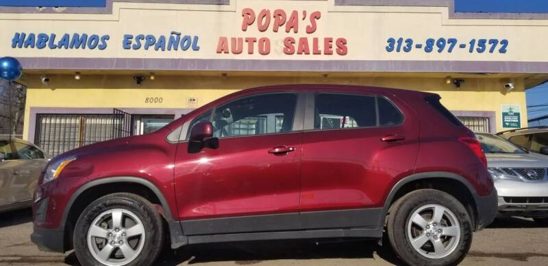 2016 Chevrolet Trax for sale at Popas Auto Sales in Detroit MI