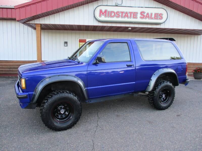 1989 Chevrolet S-10 Blazer for sale in Foley, MN