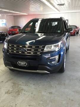 2017 Ford Explorer for sale at Stakes Auto Sales in Fayetteville PA