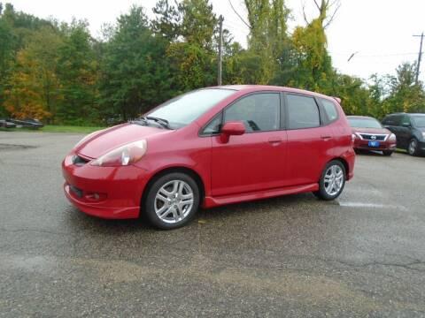 2007 Honda Fit for sale at Michigan Auto Sales in Kalamazoo MI