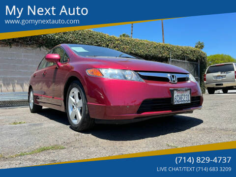 2008 Honda Civic for sale at My Next Auto in Anaheim CA
