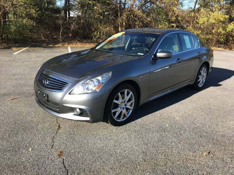 2012 Infiniti G37 Sedan for sale at Westford Auto Sales in Westford MA