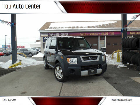 2006 Honda Element for sale at Top Auto Center in Quakertown PA