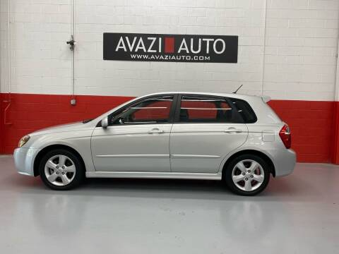 2009 Kia Spectra for sale at AVAZI AUTO GROUP LLC in Gaithersburg MD