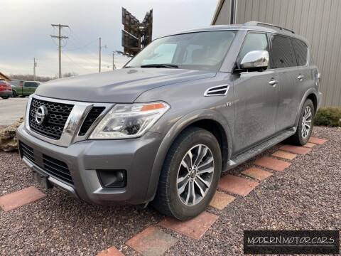 2019 Nissan Armada for sale at Modern Motorcars in Nixa MO