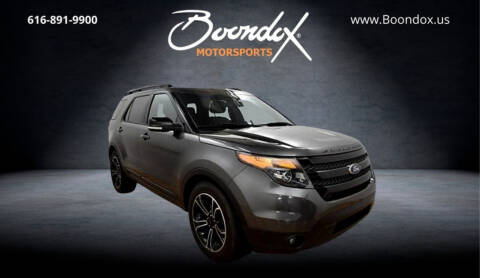 2015 Ford Explorer for sale at Boondox Motorsports in Caledonia MI