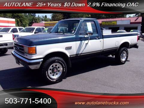 1989 Ford F-250 for sale at Auto Lane in Portland OR