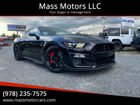 2020 Ford Mustang for sale at Mass Motors LLC in Worcester MA