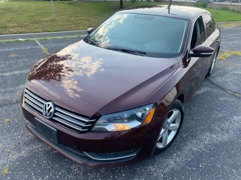 2013 Volkswagen Passat for sale at Supreme Auto Gallery LLC in Kansas City MO