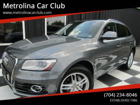 2014 Audi Q5 for sale at Metrolina Car Club in Matthews NC