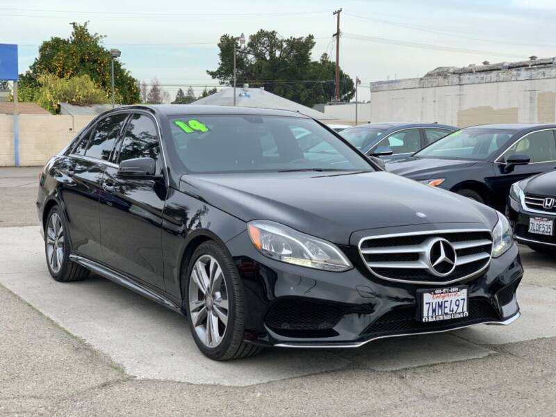2014 Mercedes-Benz E-Class for sale at H & K Auto Sales & Leasing in San Jose CA