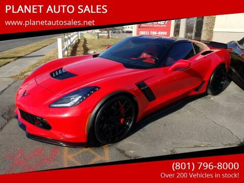 2015 Chevrolet Corvette for sale at PLANET AUTO SALES in Lindon UT