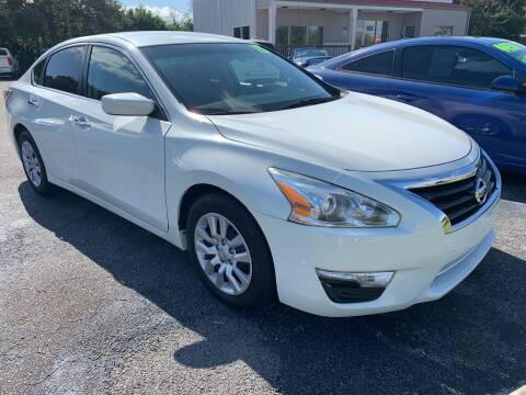 2015 Nissan Altima for sale at The Car Connection Inc. in Palm Bay FL