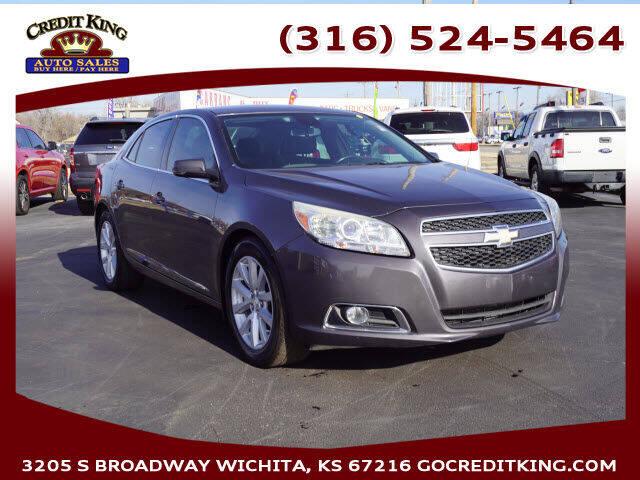 2013 Chevrolet Malibu for sale at Credit King Auto Sales in Wichita KS