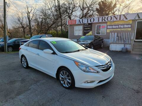 2012 Hyundai Sonata for sale at Auto Tronix in Lexington KY