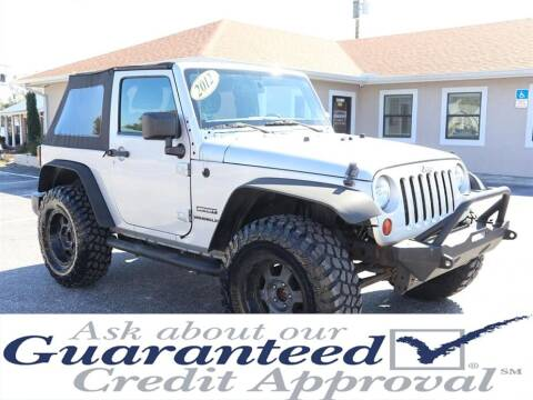 2012 Jeep Wrangler for sale at Universal Auto Sales in Plant City FL