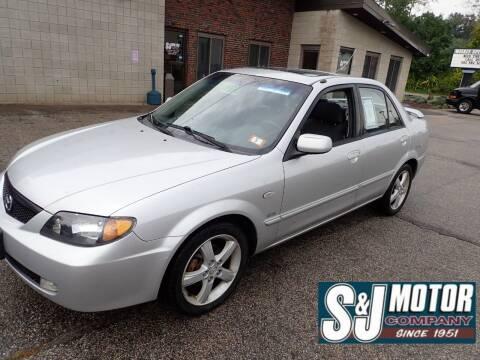 2002 Mazda Protege for sale at S & J Motor Co Inc. in Merrimack NH